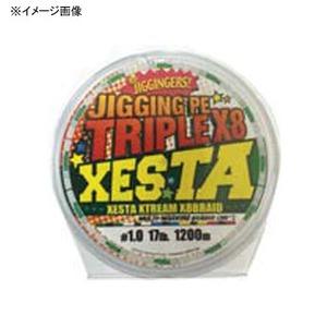 【送料無料】ゼスタ(XeSTA) ジギングPE トリプルX8 1200m 2.5号/44lb