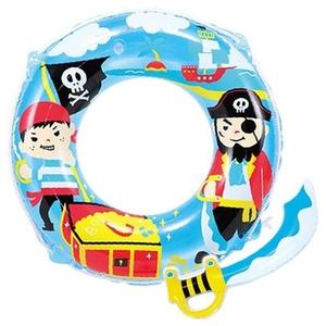 ヒオキ 海賊ウキワ(変身シリーズ おまけ付き) 浮輪60cm WN6260 フロートマット&浮き輪