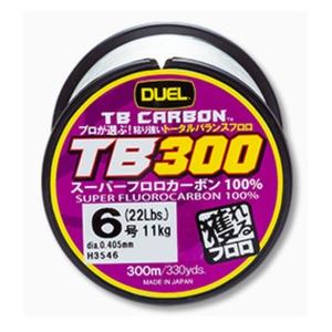 デュエル(DUEL) TB CARBON(カーボン) TB300 300m H3546 ブラックバス用フロロライン