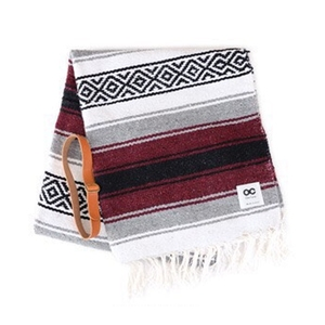MEXICAN CLASSIC BLANKET  ワインレッド