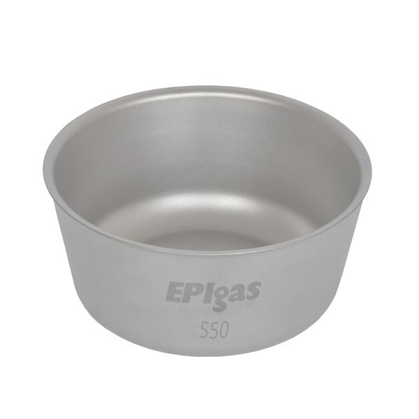EPI(イーピーアイ) ダブルウォールチタンボウル550 T-8211 チタン製お皿