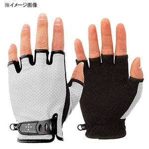 アクシーズクイン(AXESQUIN) UV Mesh Finger Cut Glove L ライトグレイ AG6707