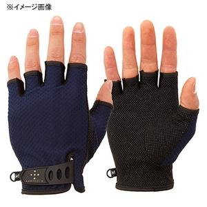 アクシーズクイン(AXESQUIN) UV Mesh Finger Cut Glove XL ネイビー AG6707