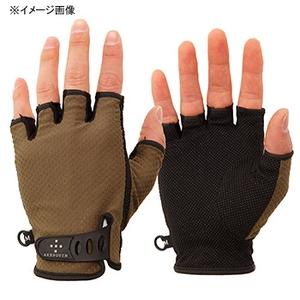 アクシーズクイン(AXESQUIN) UV Mesh Finger Cut Glove M オリーブ AG6707