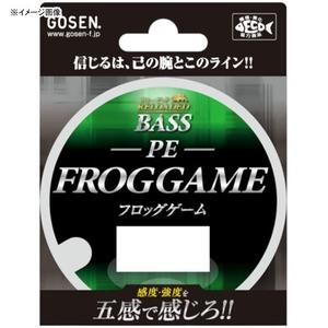 ゴーセン(GOSEN)RDバス PEフロッグゲーム 80m