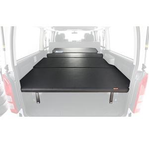 【送料無料】ユーアイビークル(UIvehicle) ハイエース200系 マルチウェイベッドキット(Loフレーム) ワイドSGL レザー調ブラック JN-U004