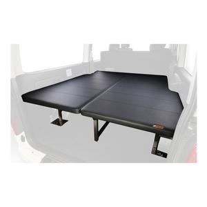 ユーアイビークル(UIvehicle) ハイエース200系 マルチウェイフォルドベッドキット SGL標準 レザー調ブラック JN-U010