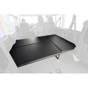 <ナチュラム> 送料無料!ユーアイビークル(UIvehicle) ハイエース200系 ワゴンGL用ベッドキット(Ver3)【代引不可】【営業所止め】 ワゴンGL レザー調ブラック JN-U022画像