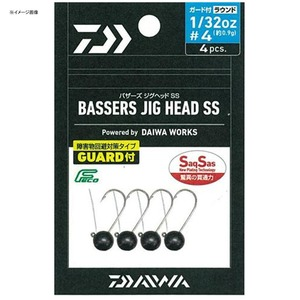 ダイワ(Daiwa) バザーズジグヘッドSS ガード付 ラウンド #2 3/32oz 07206605