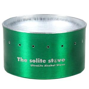 THE SOLITE STOVE(ソーライトストーブ) ウルトラライトアルコールバックパッキングストーブ グリーン 19980001008000