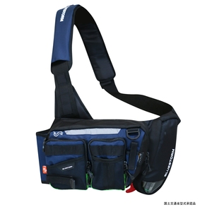 【送料無料】Takashina(高階救命器具) 膨脹式ライフジャケット(水感知機能付き)ライトゲームモデル タイプG フリー ネイビー BSJ-7120