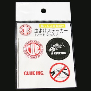 CLUE(クルー) 虫よけステッカー