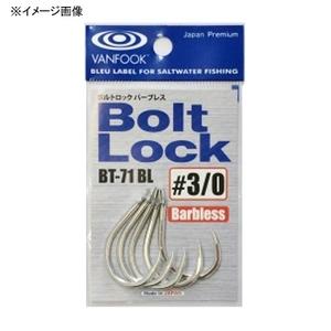 ヴァンフック(VANFOOK) ボルトロック(バーブレス) #2/0 シルバー BT-71BL