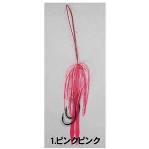 ハヤブサ(Hayabusa) 鮭ラバ ラバー&フックセット HE152