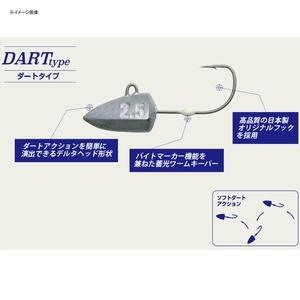 メジャークラフト ジグパラヘッド ダートタイプ JPHD-1.5/DART