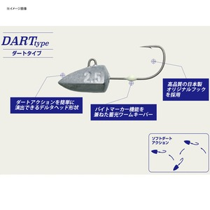 メジャークラフト ジグパラヘッド ダートタイプ JPHD-3.0/DART