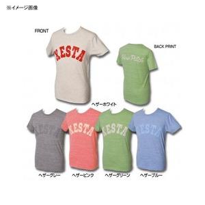 ゼスタ(XeSTA) ヘザーT-シャツ(スローピッチ) M ヘザーホワイト