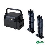 メイホウ(MEIHO) ★ランガンシステム VS-7055+ロッドスタンド BM-250 Light 2本組セット★ ボックスタイプ