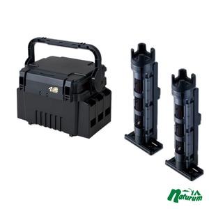 メイホウ(MEIHO) 明邦 ★ランガンシステム VS-7055+ロッドスタンド BM-250 Light 2本組セット★ ボックスタイプ