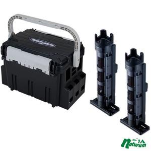 ★バケットマウスBM−5000+ロッドスタンド BM−250 Light 2本組セット★  ブラック/クリアブラック×ブラック