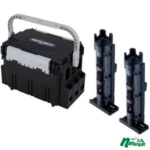 メイホウ(MEIHO) 明邦 ★バケットマウスBM-5000+ロッドスタンド BM-250 Light 2本組セット★ ボックスタイプ