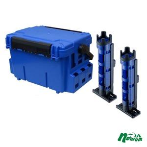 ★バケットマウスBM−7000+ロッドスタンド BM−250 Light 2本組セット★  ブルー/クリアブルー×ブラック