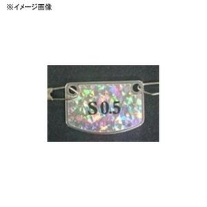 ダイワ(Daiwa) 快適カワハギ ピラピラ集寄R 2枚 S-0.5号 銀 07115399