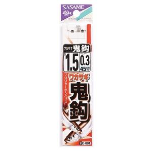 ささめ針(SASAME) ワカサギ鬼鈎糸付 C-001