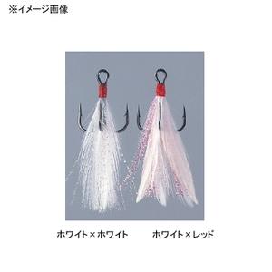 がまかつ(Gamakatsu) トレブル 13FT #6 ホワイト×レッド 66256