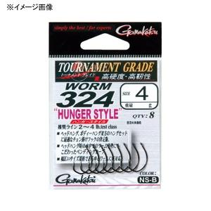 アウトドア&フィッシング ナチュラムがまかつ(Gamakatsu) バラ TGW ワーム324 ハンガースタイル #8 レッド 67185