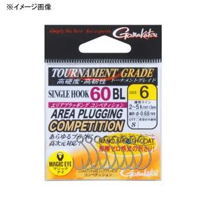 がまかつ(Gamakatsu) シングルフック 60BL エリアプラッギング コンペティション 68114