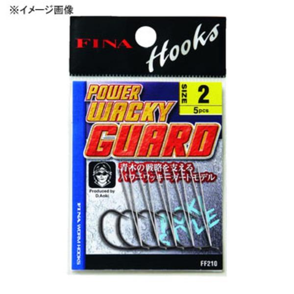 ハヤブサ(Hayabusa) FINA POWER WACKY GUARD(パワーワッキーガード) FF210 ワームフック(マス針タイプ)