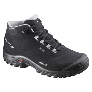 【送料無料】SALOMON(サロモン) FOOTWEAR SHELTER CS WP 27.5cm BLACKxBLACKxPTR L37281100