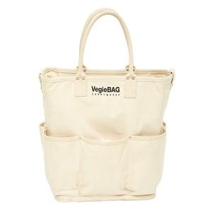 Vegie bag(ベジ バッグ) ショッピングバッグ トープ ホワイト VB-401