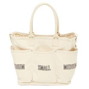 Vegie bag(ベジ バッグ) ショッピングバッグ スクエア ホワイト SI-210
