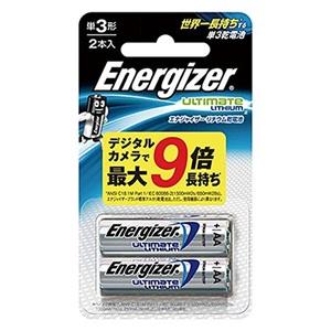 Energizer(エナジャイザー) リチウム乾電池 単3形 2本入 LIT BAT AA 2PK