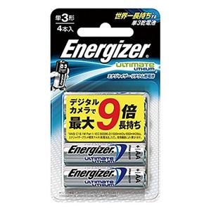 Energizer(エナジャイザー) リチウム乾電池 単3形 4本入 LIT BAT AA 4PK