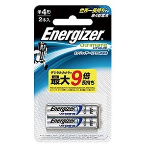 Energizer(エナジャイザー) リチウム乾電池 単4形 2本入 LIT BAT AAA 2PK