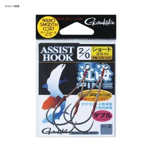 がまかつ(Gamakatsu) アシストフック 近海ファイン PE(ショート) GA017 1/0 42292