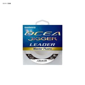 シマノ(SHIMANO) CL-O36P オシア ジガー リーダー マスターフロロ 50m 12号/40lb ピュアクリア 47615