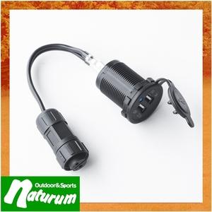 JPN(ジェーピーエヌ) キズナけーぶる・埋込式USB電源コード JPN-DC755 インバーター・コンバーター