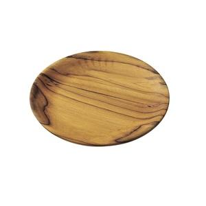 あまの(AMANO) TEAKプレート 0404174 ウッド製お皿