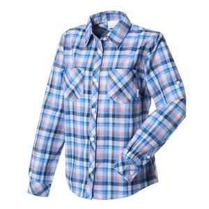 【送料無料】Columbia(コロンビア) スライドアイルウィメンズR フィットシャツ L 485(HARBOR BLUE) PL7969