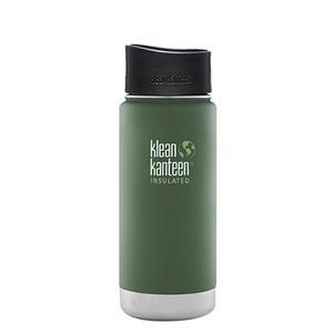 【送料無料】klean kanteen(クリーンカンティーン) KK ワイドインスレートCafe 16oz ビンヤードグリーン 19322025208016