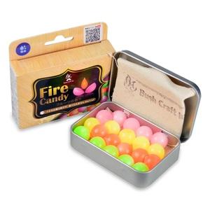【送料無料】Bush Craft(ブッシュクラフト) ファイヤーキャンディ(Fire Candy) 20粒入り 06-03-orti-0008