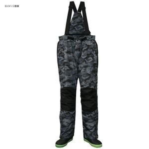 防水防寒カモフラサロペットパンツDX LL ブラックカモ