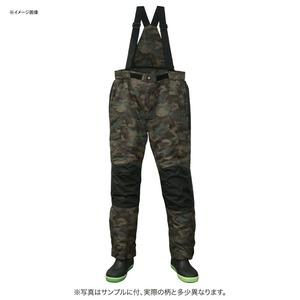 防水防寒カモフラサロペットパンツDX 3L オリーブカモ