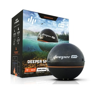 Deeper Pro+(ディーパー プロ+) ワイヤレススマート GPS 魚群探知機