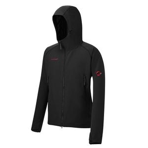 【送料無料】MAMMUT(マムート) SOFtech CLIMB Light Hooded Jacket Men's L 0001(black) 1010-23000
