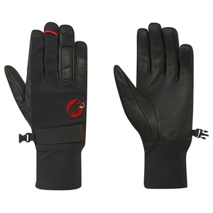 【送料無料】MAMMUT(マムート) Climb Glove 8 0001(black) 1090-04780
